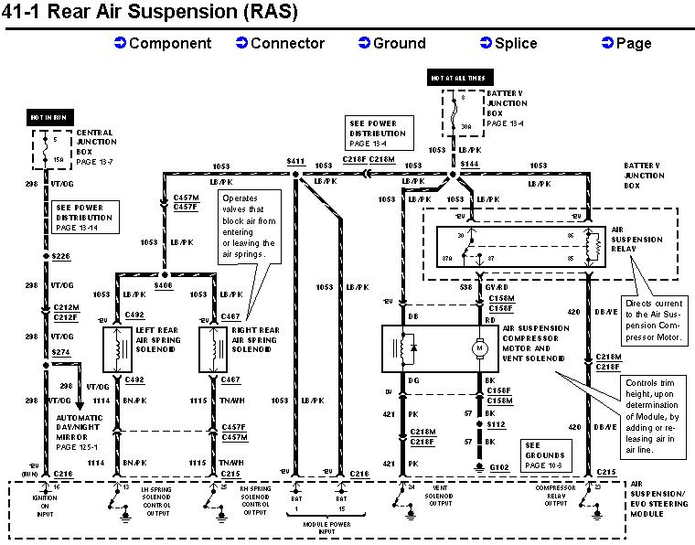 02 deville air ride wiring diagram