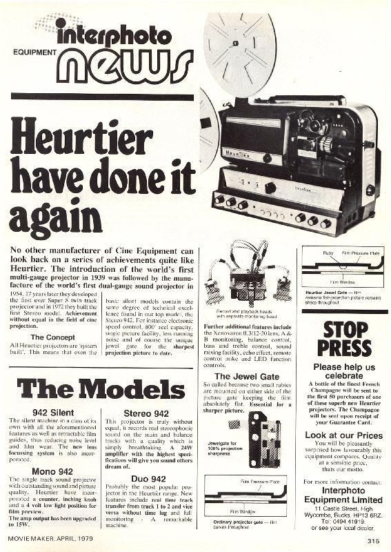 9.5mm Heurtier
