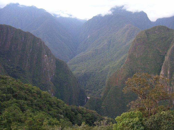 Peruvian Mountains near Machu Picchu