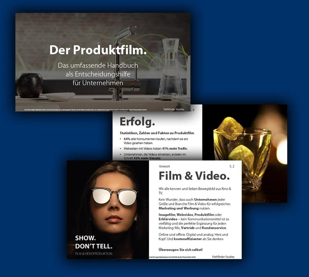 Produktfilm Handbuch Download