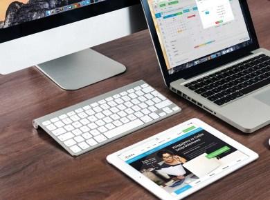 Webdesign auf verschiedenen Geräten