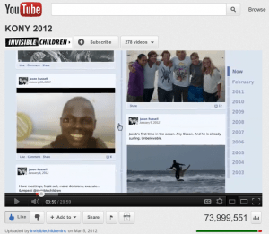 How to make a video go viral - Kony 2012