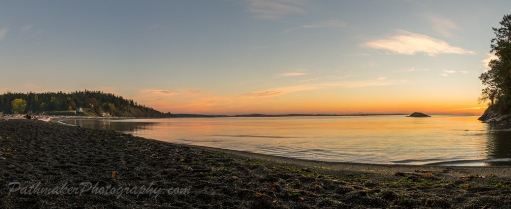 Albert Head Lagoon Sunrise