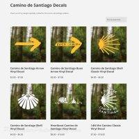 Camino de Santiago Decals