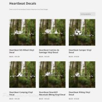 Heartbeat Decals