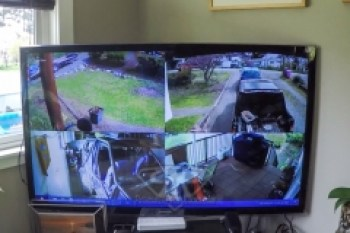 Pathmaker Speed Shop Lorex Security Camera Install (4 of 8)