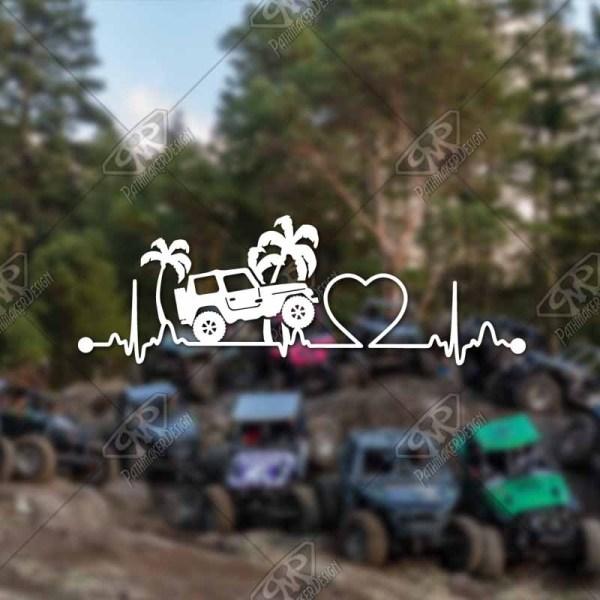 Heartbeat Jeep Palms