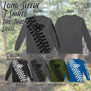 Tire Track Long Sleeve Tee