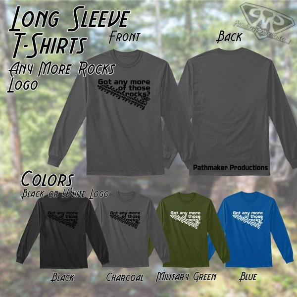 Any More Rocks Long Sleeve Tee