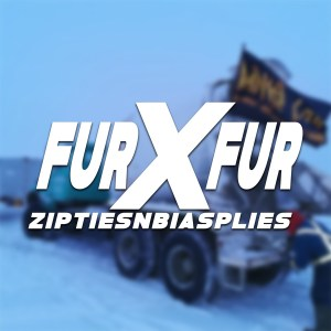 Fur by Fur Decal White