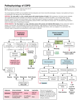 Pathophysiology of COPD | McMaster Pathophysiology Review