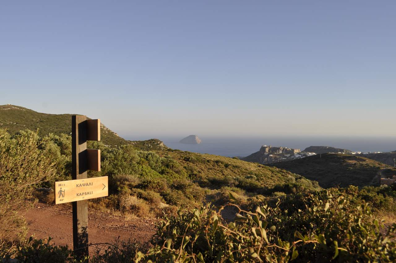 Kythera trail signs