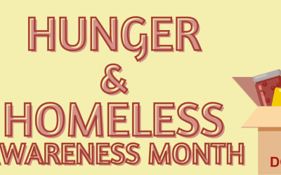 November is Hunger and Homeless Awareness Month!