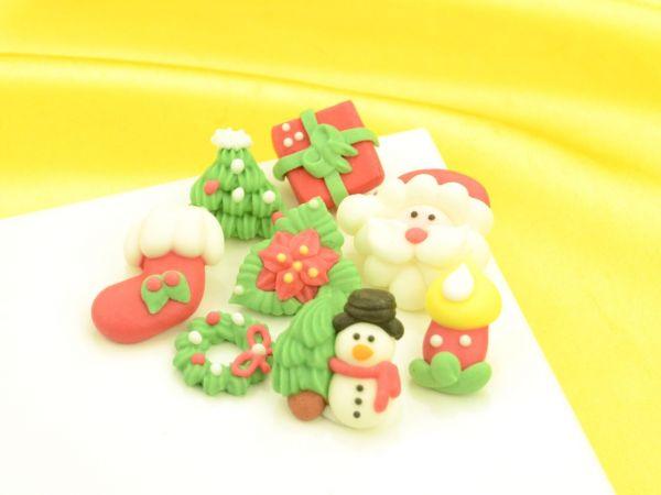 Weihnachtsdekore Zucker 100er Set  Weihnachten  PatiVersand