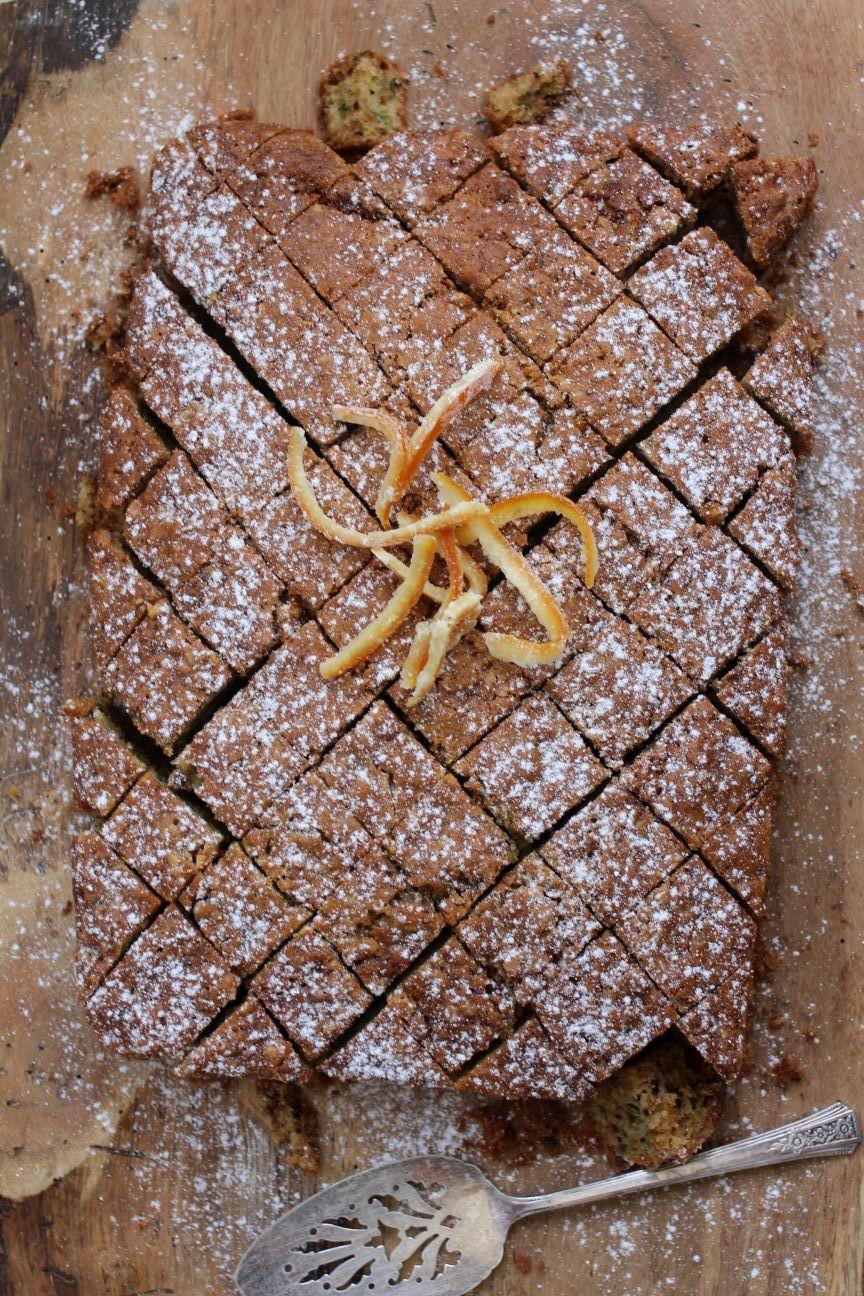 Zucchini Walnut Cake Better Homes And Gardens