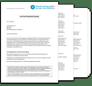Vorlage Patientenverfügung 2019 Zum Ausdrucken Als Pdf