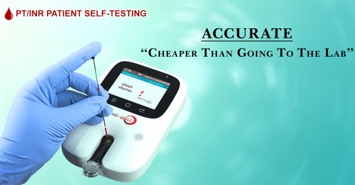 patient self testing