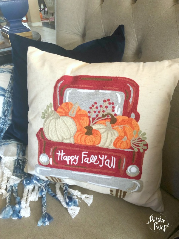 Affordable fall throw pillows