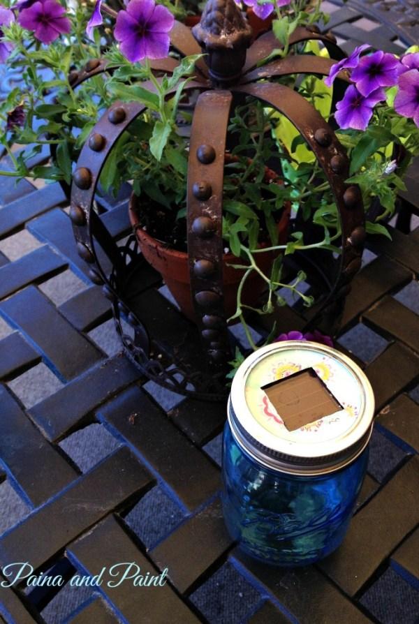 Ball Jar lantern 2