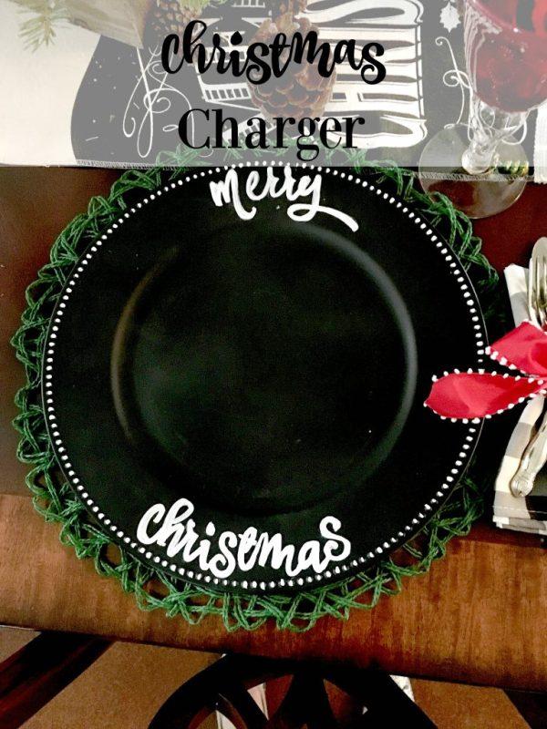 Christmas Charger 9