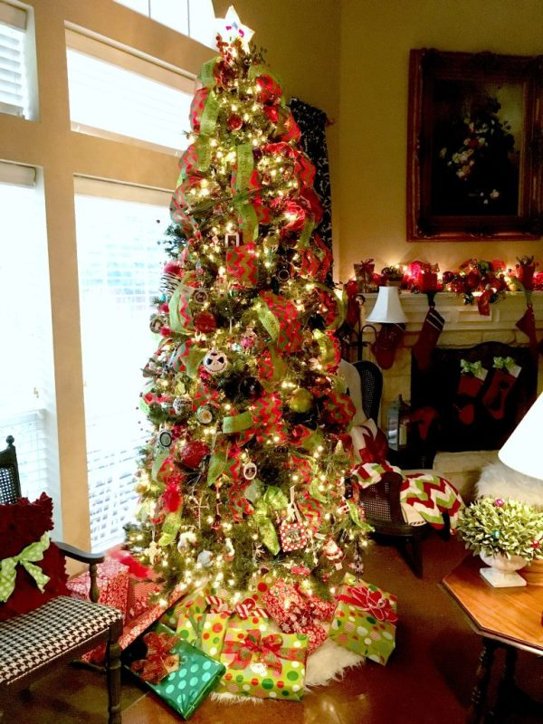 Christmas in the Living room 10