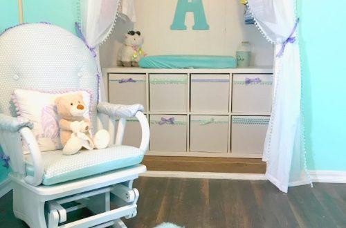 decorating Beep's nursery