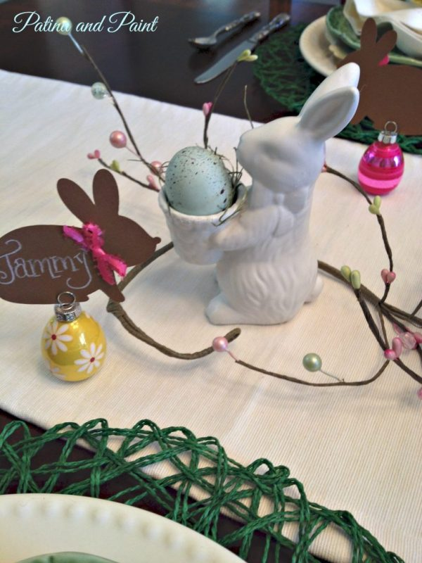 Egg holder bunny