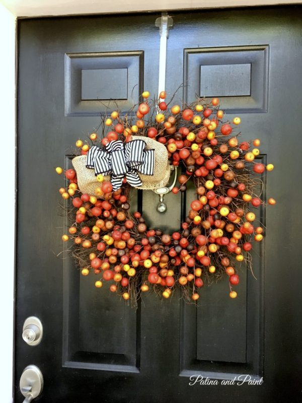 Fall front porch decor 2