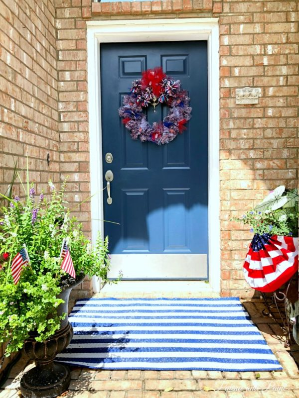 Last minute 4th of July decor