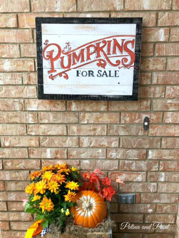 my fall front porch
