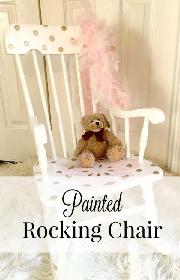 Painted Rocking Chair 5