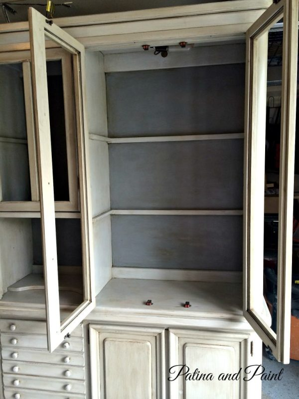 Paris grey hutch inside