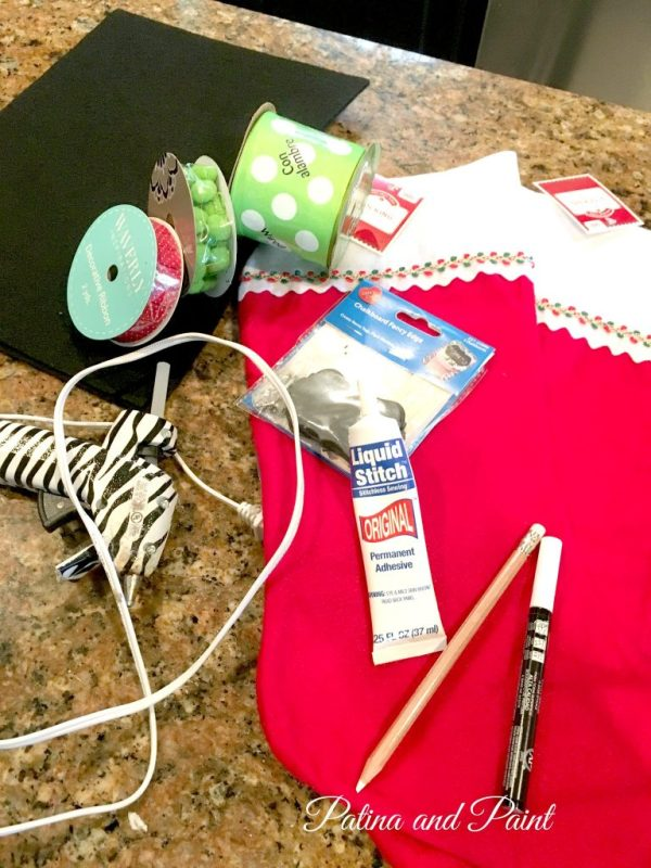DIY Christmas Friday #3 Pet Christmas Stockings 5