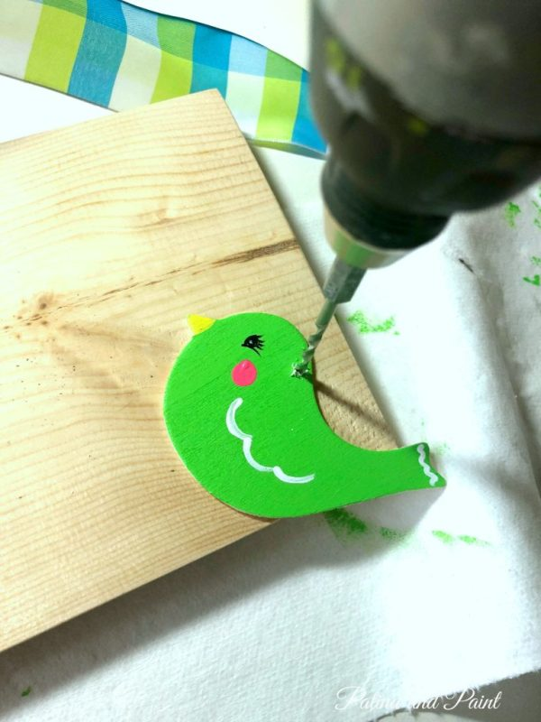 wooden bird