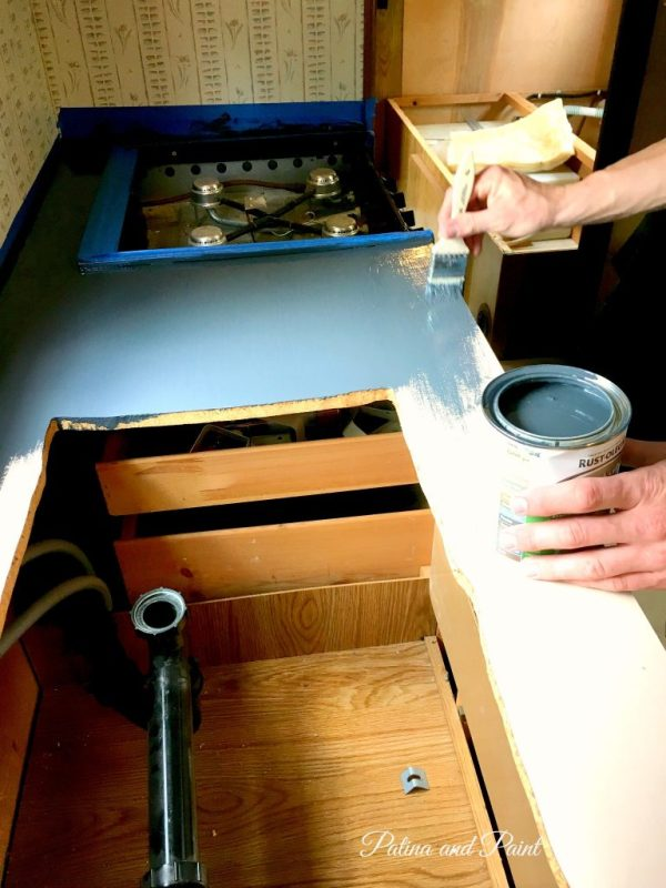 Ryan's RV kitchen 10
