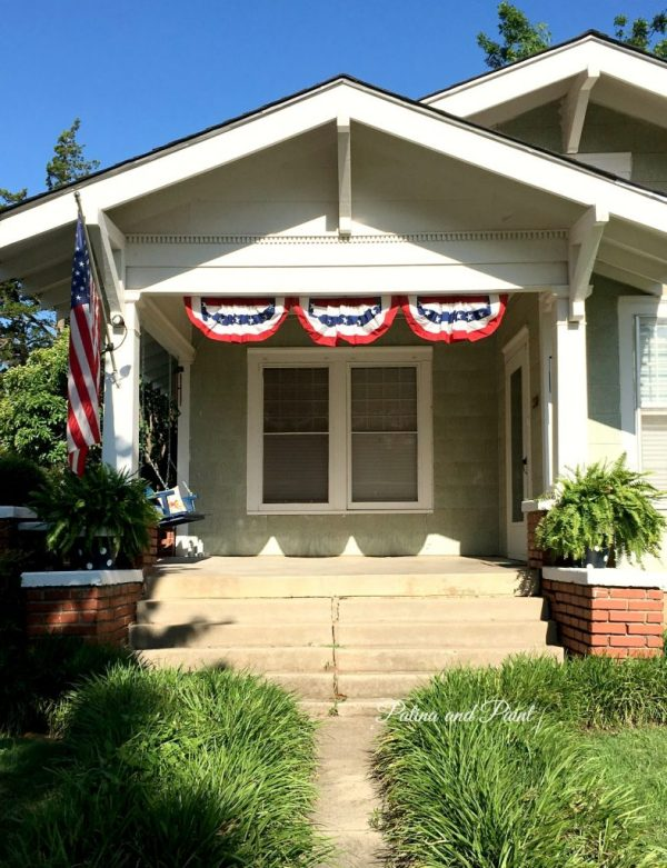 Terri's Porch Swing 1