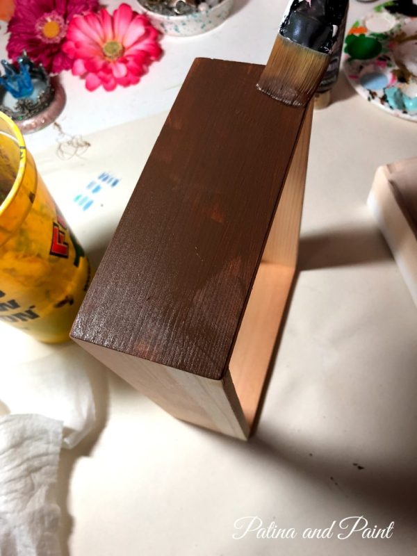painting a frame