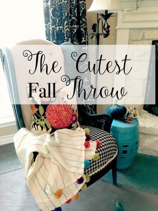 The cutest fall throw 10