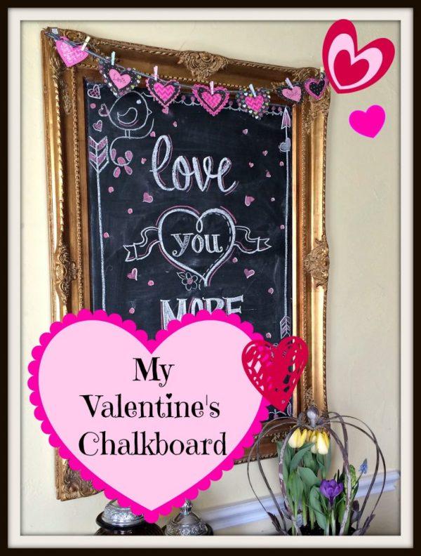 Valentines Chalkboard 2