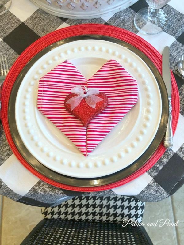 Valentine's Day Napkin