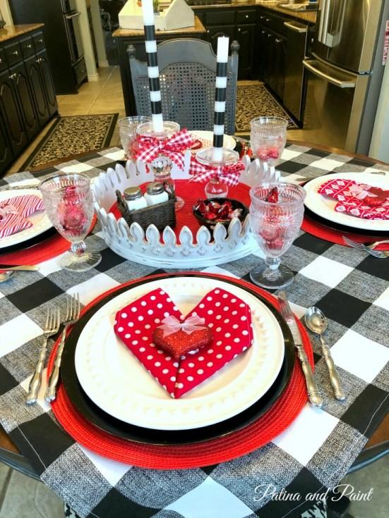valentines table