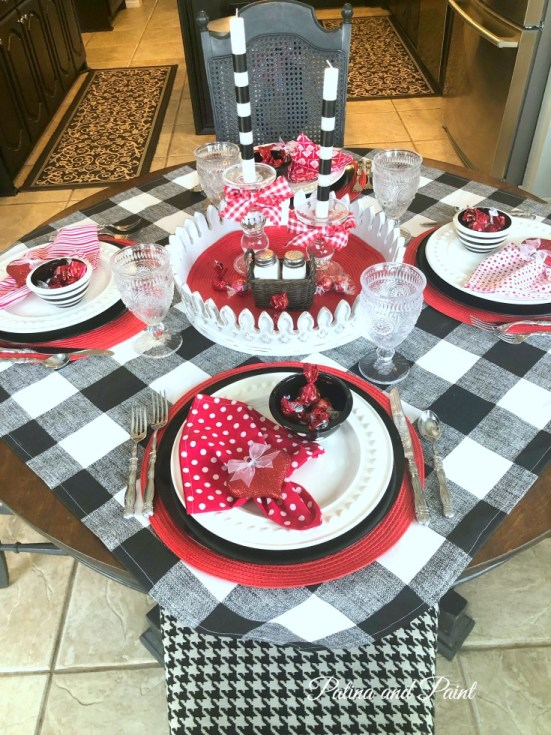 Valentine's table