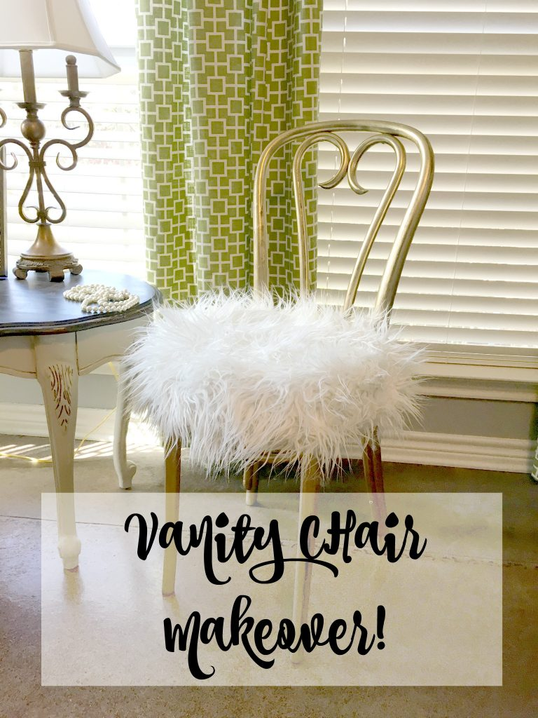 Vanity Chair Makeover