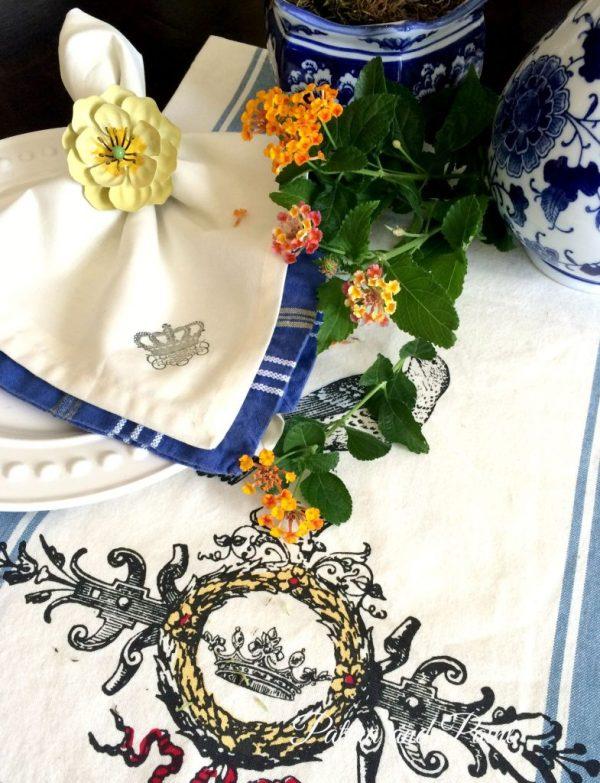 crown napkins