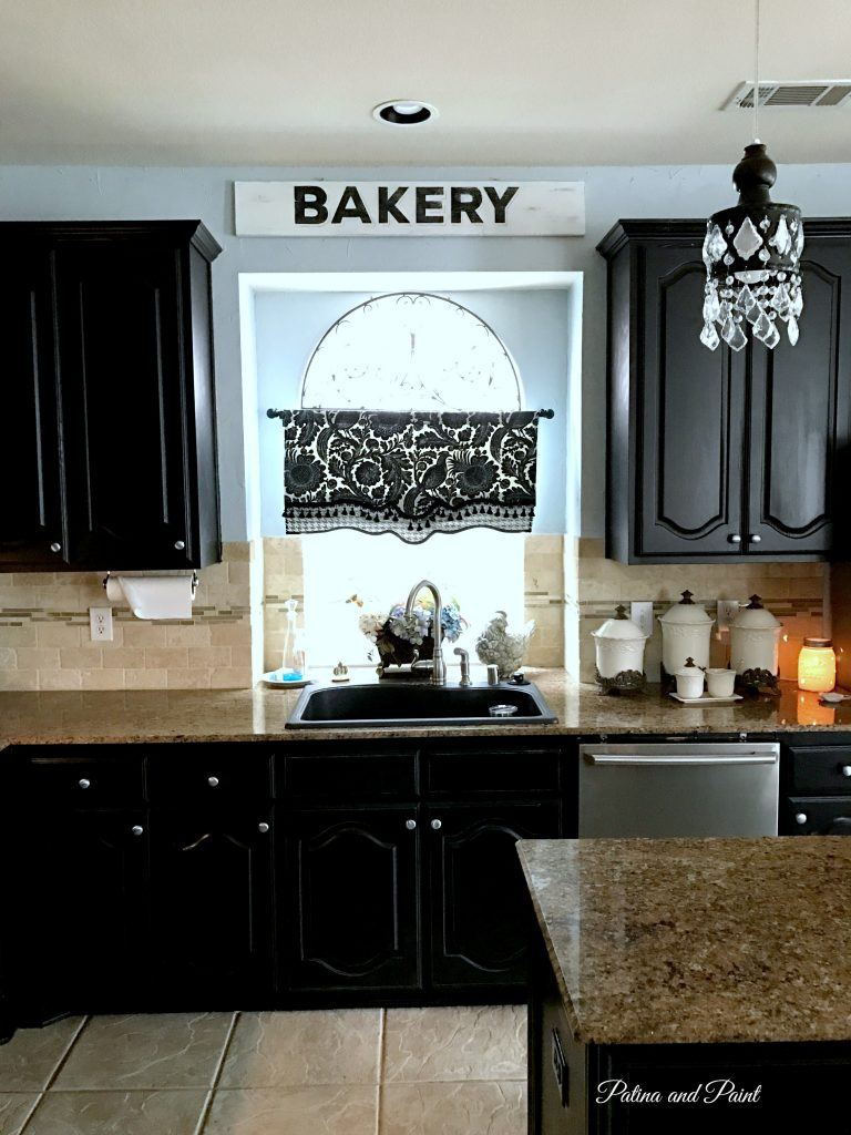 my new kitchen walls patina and paint