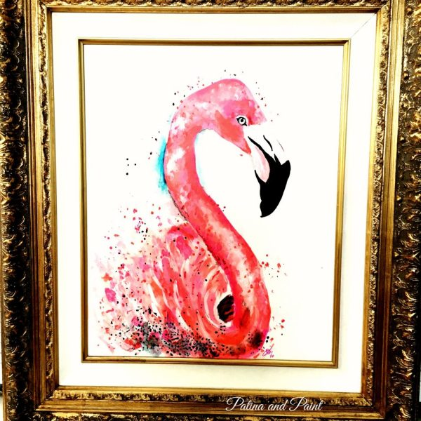 pink flamingo 35