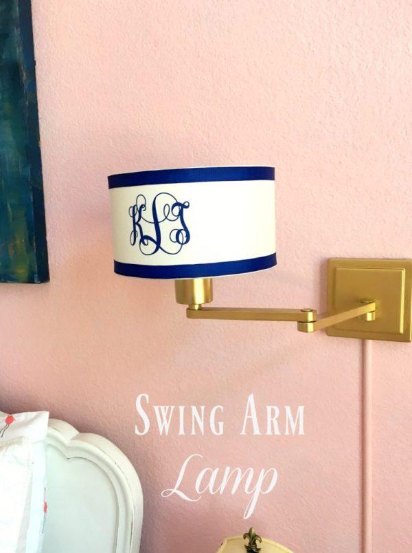 swing arm lamp 16