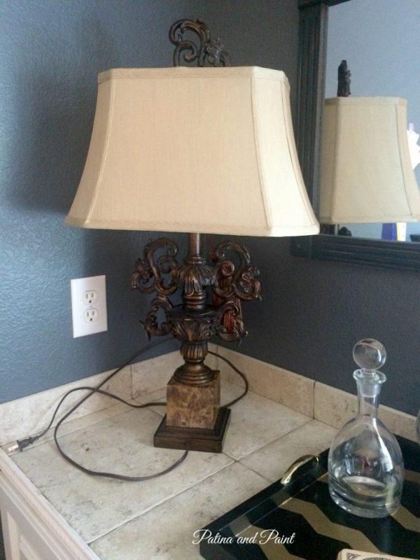 turquoise lamp 5