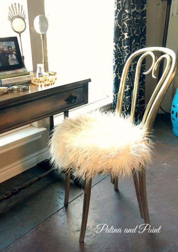 vanity chair 2