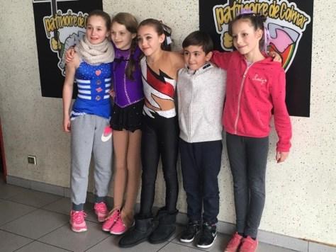 Division 1 : Léa, Emma, Clémence, Nico, Lilia